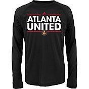 adidas Youth Atlanta United Dassler Long Sleeve Black T-Shirt