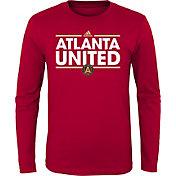 adidas Youth Atlanta United Dassler Red Long Sleeve Shirt
