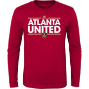 adidas Youth Atlanta United Dassler Red Long Sleeve Shirt