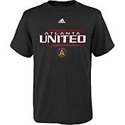 adidas Youth Atlanta United Fly Ball Black T-Shirt