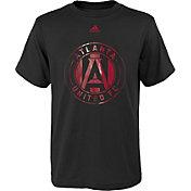 adidas Youth Atlanta United War Paint Black T-Shirt