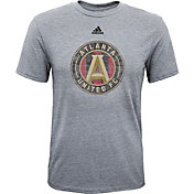 adidas Youth Atlanta United Big Logo Grey T-Shirt