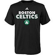 adidas Youth Boston Celtics Black T-Shirt