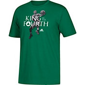 "adidas Youth Boston Celtics Isaiah Thomas ""King In The Fourth"" Kelly Green T-Shirt"