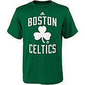 adidas Youth Boston Celtics Kelly Green T-Shirt