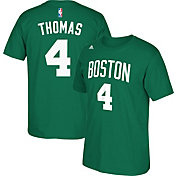 adidas Youth Boston Celtics Isaiah Thomas #4 Kelly Green T-Shirt