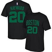 adidas Youth Boston Celtics Gordon Hayward #20 Black T-Shirt