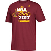adidas Youth 2017 Eastern Conference Champions Cleveland Cavaliers Locker Room Burgundy T-Shirt