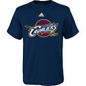 adidas Youth Cleveland Cavaliers Primary Logo Navy T-Shirt