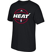 adidas Youth Miami Heat Black T-Shirt