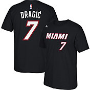 adidas Youth Miami Heat Goran Dragic #7 Black T-Shirt