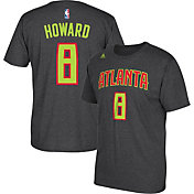 adidas Youth Atlanta Hawks Dwight Howard #8 Grey T-Shirt