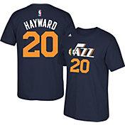 adidas Youth Utah Jazz Gordon Hayward #20 Navy T-Shirt