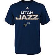 adidas Youth Utah Jazz Navy T-Shirt