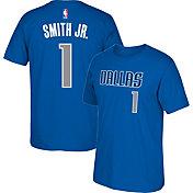 adidas Youth Dallas Mavericks Dennis Smith Jr. #1 Blue T-Shirt