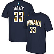 adidas Youth Indiana Pacers Myles Turner #33 Navy T-Shirt
