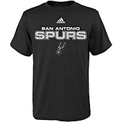 adidas Youth San Antonio Spurs Black T-Shirt