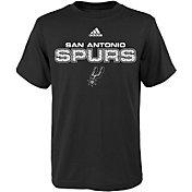 adidas Youth San Antonio Spurs Black T-Shirt