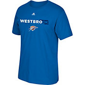 "adidas Youth Oklahoma City Thunder Russell Westbrook ""WestbroOK"" Blue T-Shirt"