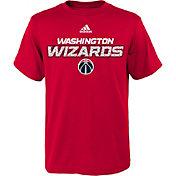 adidas Youth Washington Wizards Red T-Shirt