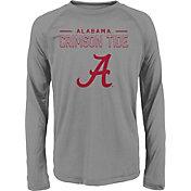 Gen2 Youth Alabama Crimson Tide Grey Straight Pass Long Sleeve Shirt