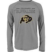 Gen2 Youth Colorado Buffaloes Grey Straight Pass Long Sleeve Shirt