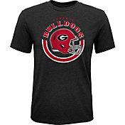 Gen2 Youth Georgia Bulldogs Black Helmet T-Shirt