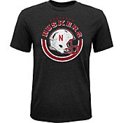 Gen2 Youth Nebraska Cornhuskers Black Helmet T-Shirt