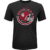 Gen2 Youth Indiana Hoosiers Black Helmet T-Shirt