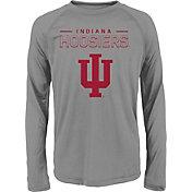 adidas Youth Indiana Hoosiers Long Sleeve Grey T-Shirt