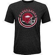 Gen2 Youth Arkansas Razorbacks Black Helmet T-Shirt