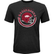Gen2 Youth Arkansas Razorbacks Black Helmet T-Shirt