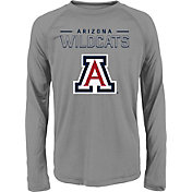 adidas Youth Arkansas Razorbacks Long Sleeve Grey T-Shirt