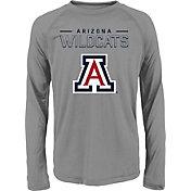 Gen2 Youth Arizona Wildcats Grey Straight Pass Long Sleeve Shirt