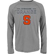 adidas Youth Syracuse Orange Long Sleeve Grey T-Shirt