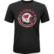 Gen2 Youth Wisconsin Badgers Black Helmet T-Shirt