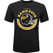 Gen2 Youth Iowa Hawkeyes Black Helmet T-Shirt