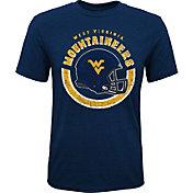 Gen2 Youth West Virginia Mountaineers Blue Helmet T-Shirt