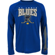 NHL Youth St. Louis Blues Tornado Royal Performance Long Sleeve Shirt