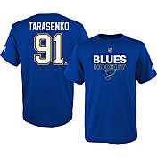 adidas Youth St. Louis Blues Vladimir Tarasenko #91 Royal T-Shirt