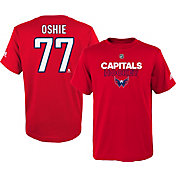 adidas Youth Washington Capitals T.J. Oshie #77 Red T-Shirt