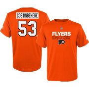 adidas Youth Philadelphia Flyers Shayne Gostisbehere #53 Orange T-Shirt