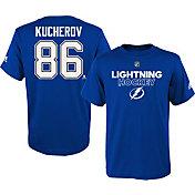 adidas Youth Tampa Bay Lightning Nikita Kucherov #86 Royal T-Shirt