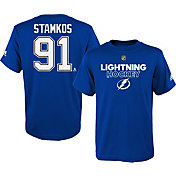 adidas Youth Tampa Bay Lightning Steven Stamkos #91 Royal T-Shirt