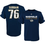 adidas Youth Nashville Predators P.K. Subban #76 Navy T-Shirt