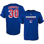adidas Youth New York Rangers Henrik Lundqvist #30 Royal T-Shirt