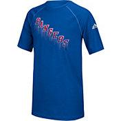 adidas Youth New York Rangers Drifting Royal T-Shirt