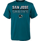 NHL Youth San Jose Sharks T-Rex Teal T-Shirt