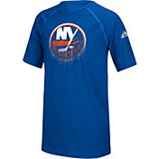 adidas Youth New York Islanders Drifting Royal T-Shirt