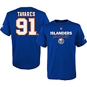 adidas Youth New York Islanders John Taveras #91 Royal T-Shirt